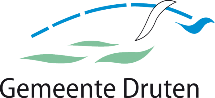 Het logo van de gemeente Druten.