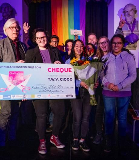 GSA van Hofstadlyceum wint John Blankensteinprijs 2018