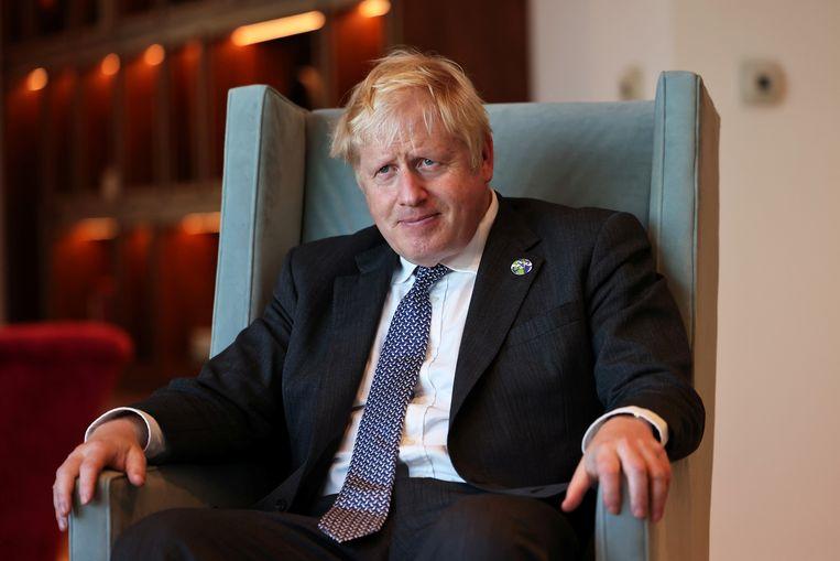 De Britse premier Boris Johnson wil dat Frankrijk zich herpakt. Beeld REUTERS