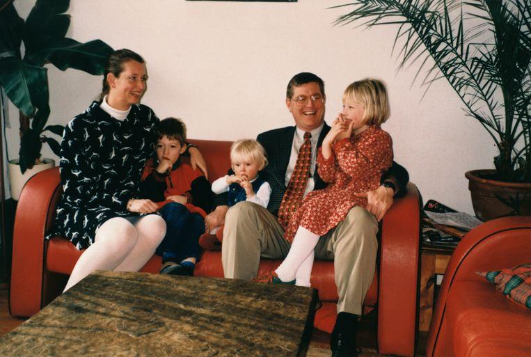Het gezin Ploeg. Beeld Privédomein Mirjam en Sandra Ploeg