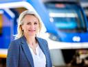 Marjan Rintel, president-directeur van de Nederlandse Spoorwegen (NS).