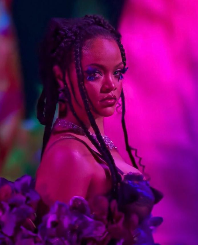 Rihanna lors du défilé Savage x Fenty