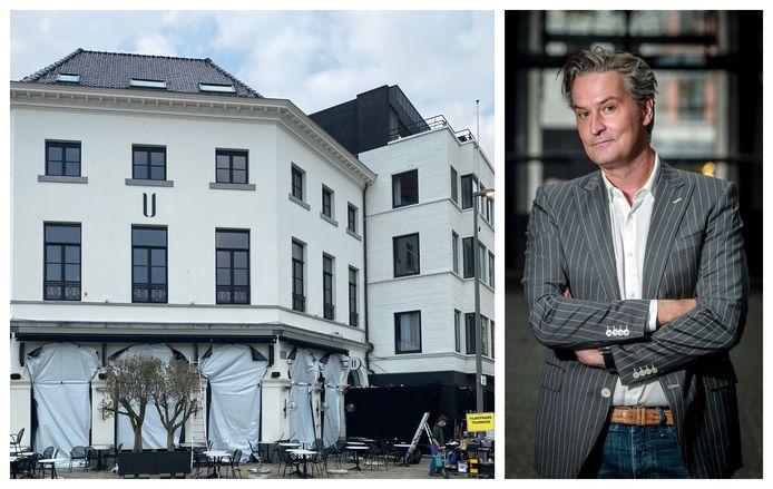 De opnames voor 'Hidden Assets' vonden plaats in 'U', het hotel van Hans Otten. De ramen werden zorgvuldig afgeplakt.