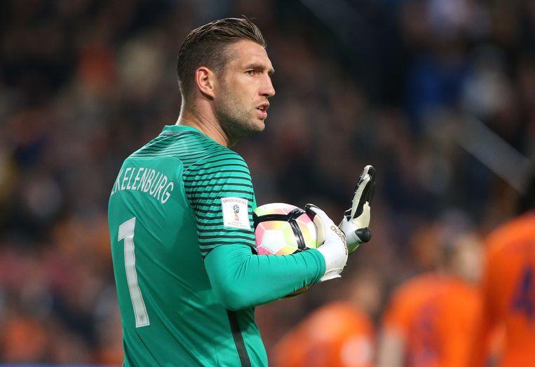 Maarten Stekelenburg: 38 jaar, 58 interlands, 0 doelpunten. Beeld  Jean Catuffe/Getty Images
