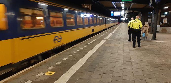 Station Deventer. Foto ter illustratie.