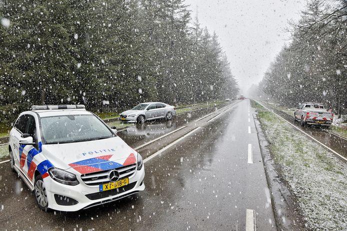 Op de Lage Mierdseweg in Esbeek gebeurde dinsdagmiddag een ongeluk.