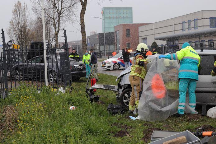Het ongeluk gebeurde omstreeks 18.00 uur.
