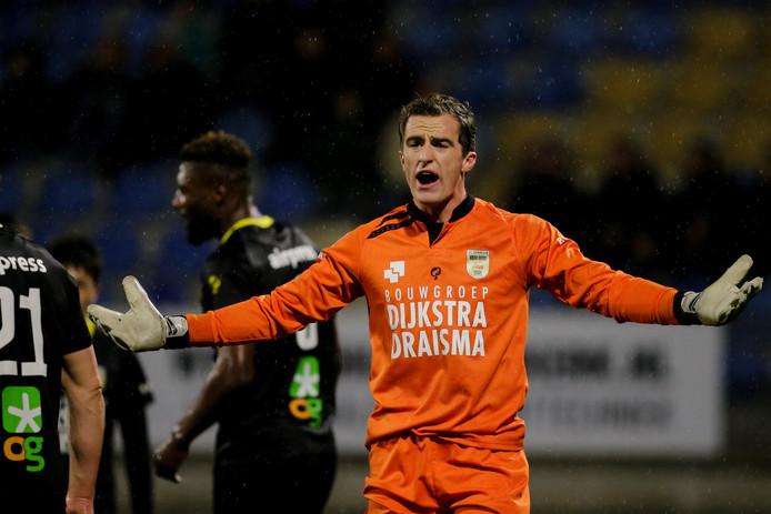 Xavier Mous (23) gaat spoedig zijn krabbel zetten onder een driejarig contract bij PEC Zwolle, dat een akkoord heeft bereikt met eerstedivisionist Cambuur over een transfersom voor de doelman.