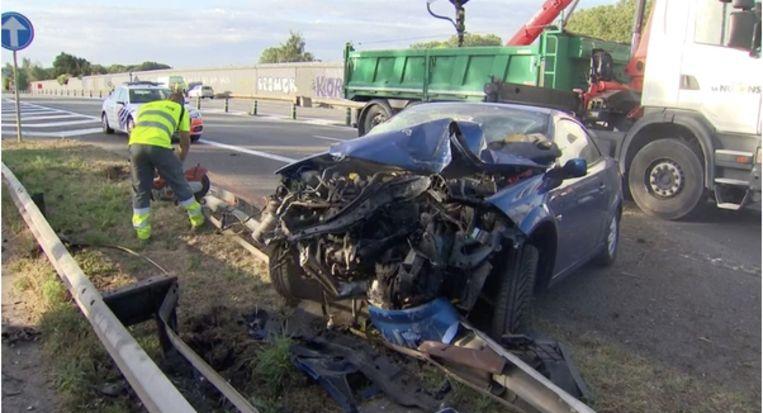 Het was het eerste ongeval van de chauffeur, maar wel één met een heel grote impact.