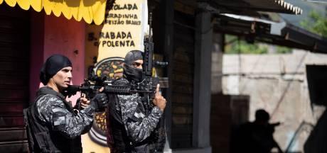 Politieactie in sloppenwijk Rio de Janeiro loopt uit de hand: 25 doden, onder wie één agent
