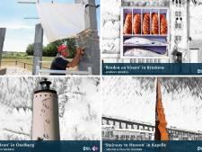 Vier Zeeuwse kunstwerken in de race voor favoriete buitenkunstwerk