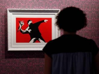 Banksy verliest patentzaak over 'Bloemengooier'