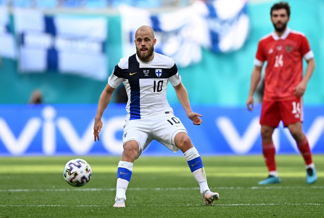 Teemu Pukki n'est qu'à deux buts du record national de Jari Litmanen, mais il n'a pas encore trouvé l'ouverture dans cet Euro.
