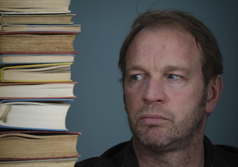 """Jan van Mersbergen: """"Misschien valt er in mijn volgende boek eindelijk een dode."""" Beeld Mark Kohn"""