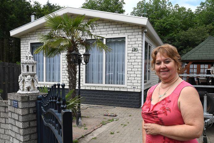 Diana Maquiné, hier op een foto uit 2018, is tot nu toe de enige woonwagenbewoner van het kamp in Mill. Daar komt dus verandering in.