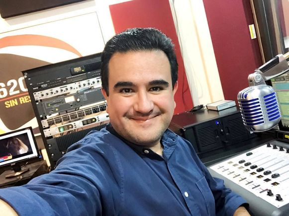 De vermoorde journalist Juan Carlos Huerta Gutierrez