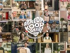 Koop je spullen lokaal, zeggen de Bredase ondernemers in een campagne
