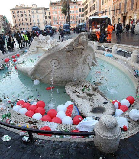 Ambassade in Rome betaalt mee aan herstellen fontein