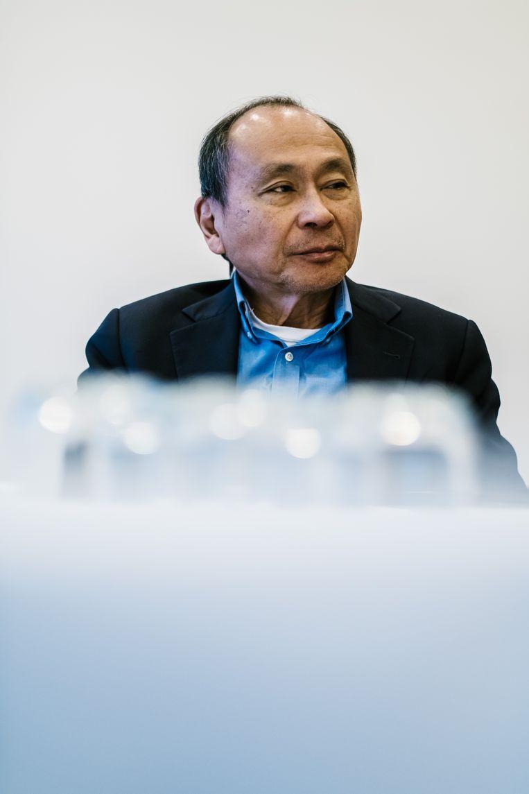 Francis Fukuyama. Beeld Wouter Van Vooren