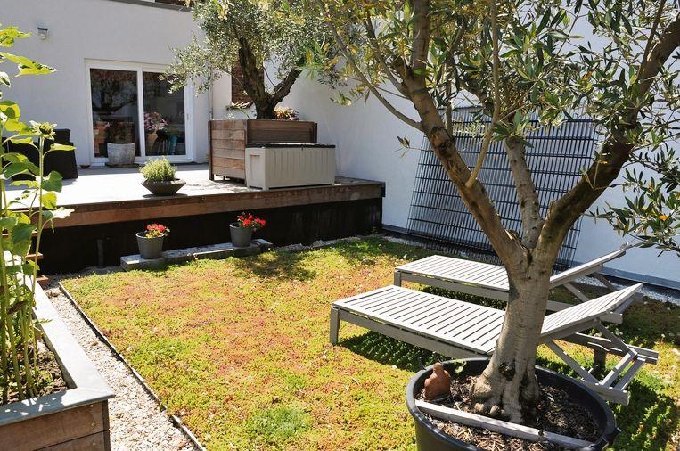 Zowel voor de dakbanen als voor de onderlaag kan je materiaal uit gerecycleerde grondstoffen kiezen.