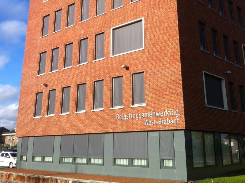 Het kantoor van de Belastingsamenwerking West-Brabant in Etten-Leur.