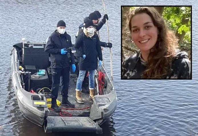 De politie in Zeeuws-Vlaanderen zocht vorige week naar meer lichaamsdelen. Inzet: slachtoffer Ichelle van de Velde (29).