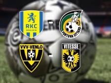 RKC ontvangt Fortuna voor degradatiekraker, Vitesse op bezoek bij VVV