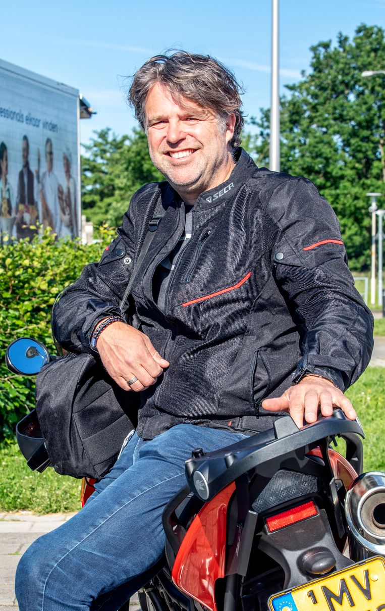 Luc Oud (53).  Beeld Raymond Rutting / de Volkskrant