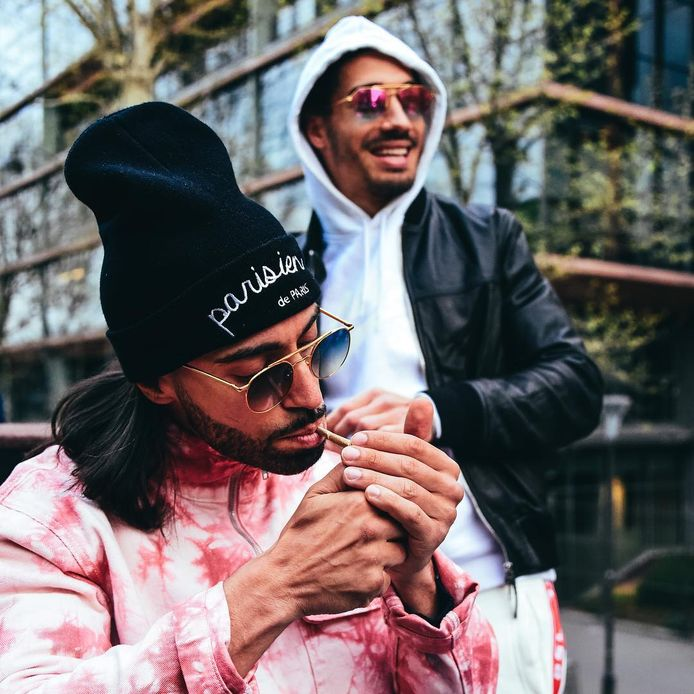 Ademo et Nos du groupe de rap PNL.