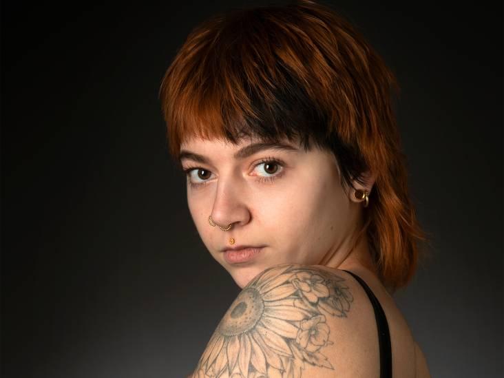 Robin ontwerpt al haar tatoeages zelf