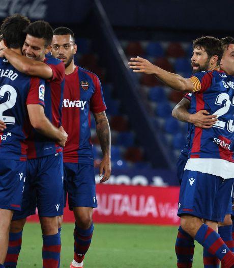 Stuntploeg Levante na 3-3 tegen Barcelona: 'Logisch dat wij niet zijn uitgenodigd voor de Super League'