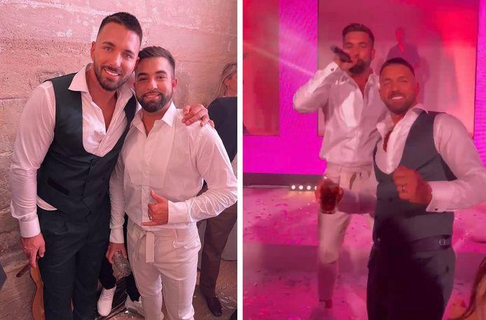 Kendji Girac est venu se produire à la soirée de mariage de Nabilla et Thomas.