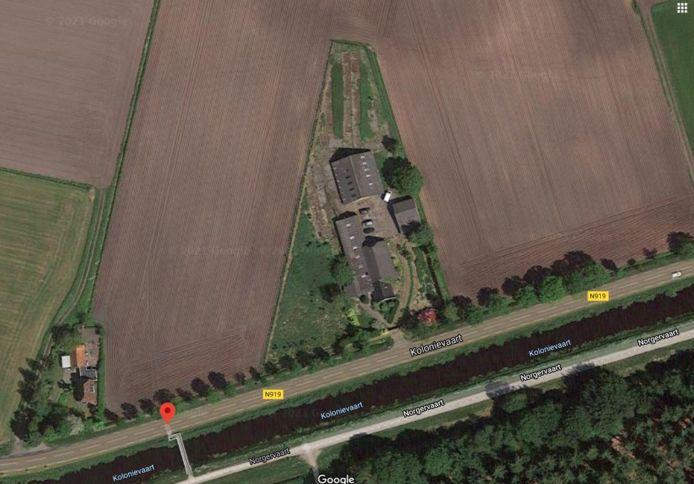 De boerderij aan de Kolonievaart in Huis ter Heide.