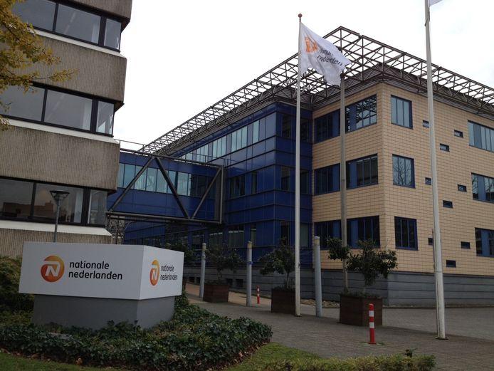 Het kantoor van Nationale Nederlanden in Ede op archiefbeeld.