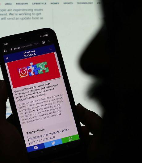 Mega-storing Facebook vermoedelijk gevolg van blunder