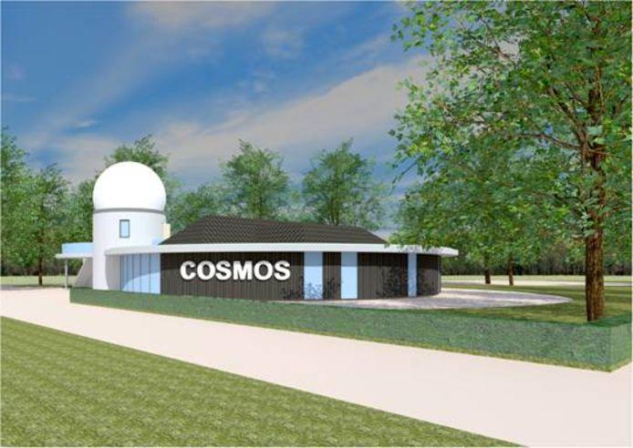 Met een zonnewacht wil Sterrenwacht Cosmos in Lattrop een nog groter publiek bereiken.