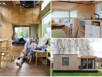 """Dertigers Anne en Thomas hoeven niet te lenen voor hun 'tiny house': """"Kleiner dan garage, maar zoveel vrijheid"""""""