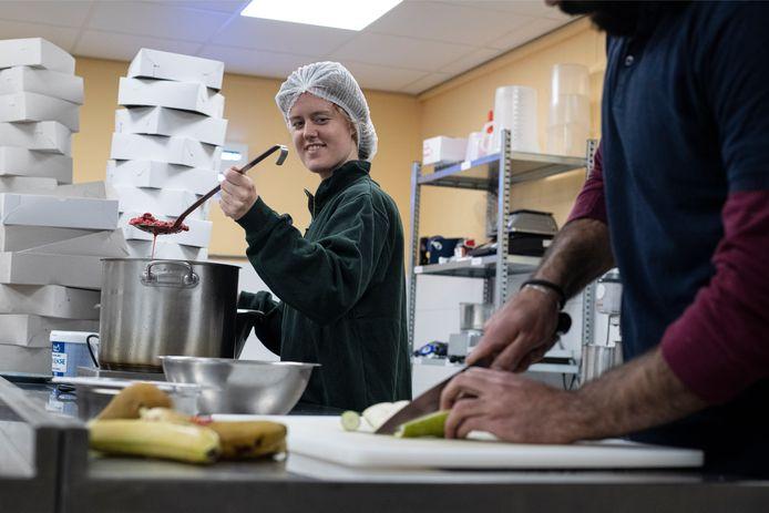 Jeanne van Ittersum van taartenbakbedrijfje Trash'ure.