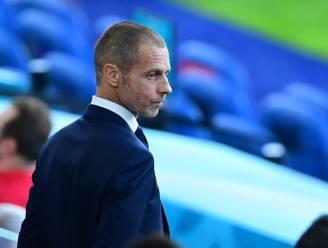 """UEFA-voorzitter over verbod om Allianz Arena in regenboogkleuren te verlichten: """"Willen niet gebruikt worden voor populistische acties"""""""