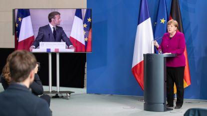 Macron en Merkel 'schaffen das': bazookaatje van €500.000.000.000
