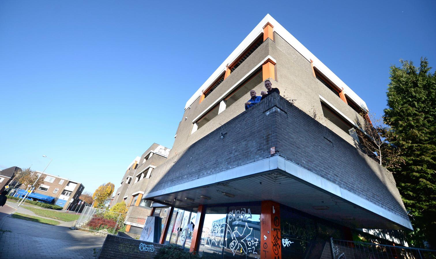 Het oude Arke-pand in hartje Enschede
