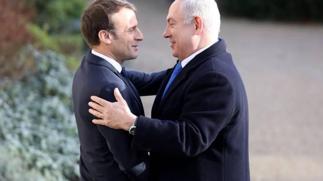 Netanyahu op bezoek in hypocriet Europa