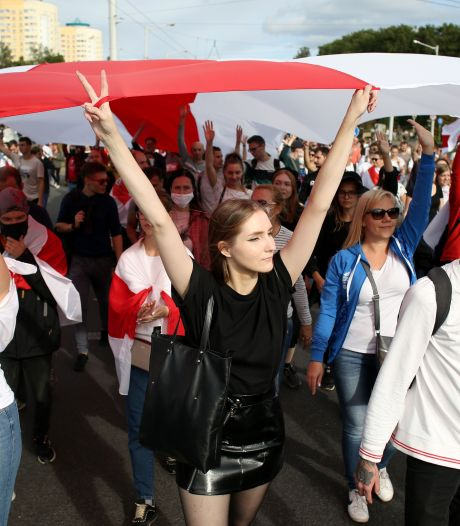 Opnieuw massale protesten in Belarus