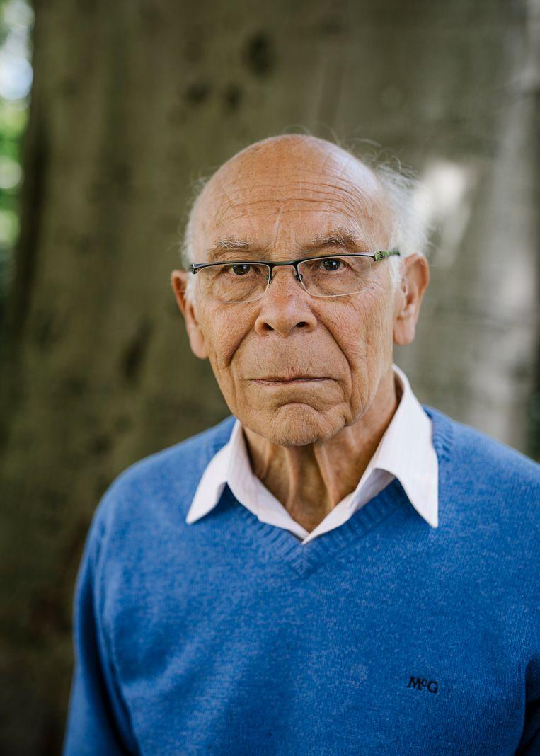Professor Lex van der Eb. Beeld Marc Driessen