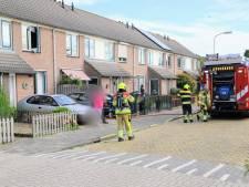 Brand bij container in Tiel: vlammen dreigden over te slaan