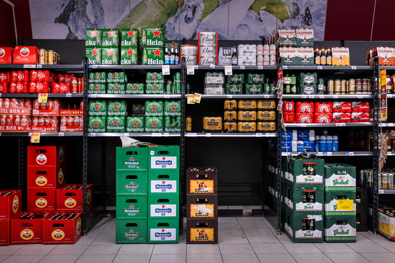 Een nieuwe  wet met betrekking tot de minimumprijs van bier en wijn is op 1 juli ingegaan.