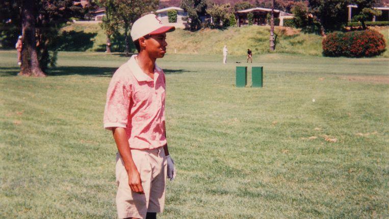 Een jonge Tiger Woods. Beeld Streamz