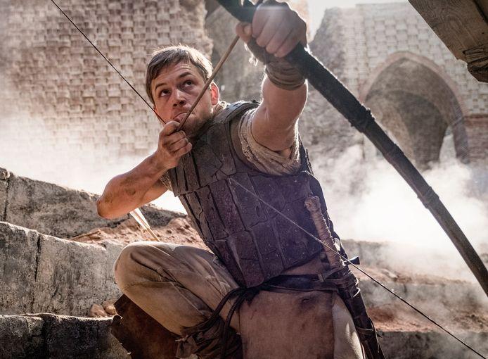Taron Egerton in 'Robin Hood'