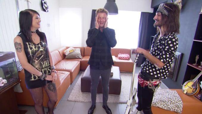 """Jani neemt Bram Jovi onder handen: """"Ik heb nog nooit tegen een man moeten zeggen: een legging is geen broek"""""""