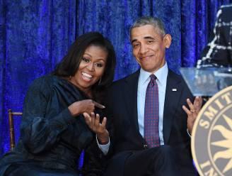 """Boek Barack Obama breekt record Michelle Obama: """"Maar ik ga het haar niet onder de neus wrijven"""""""